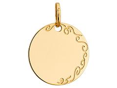 Médaille or jaune