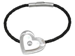 Bracelet H. Gringoire argent et nacre