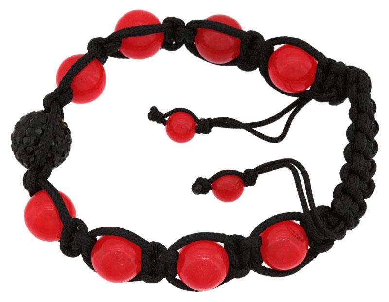 Bracelet Shamballa pierres de synthèse et oxydes