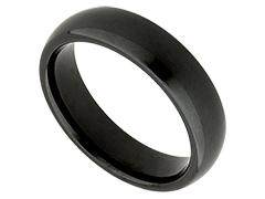 Alliance céramique noire 6 mm