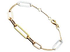 Bracelet or tricolore