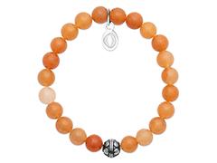 Bracelet aventurine orange