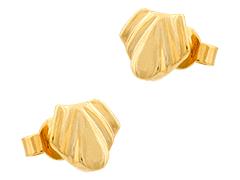 Boucles doreille plaqué or
