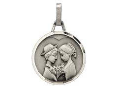 Médaille Amoureux argent