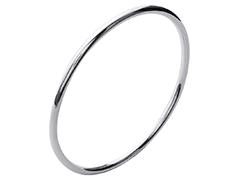 Bracelet jonc argent 3 x 66 mm