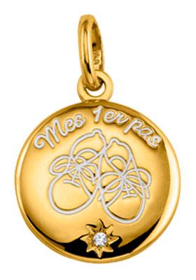 Médaille plaqué or et oxyde