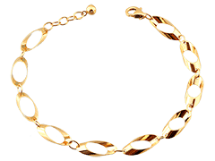 Bracelet or jaune 9K