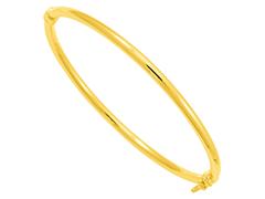Bracelet jonc or 9K jaune