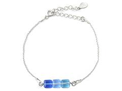 Bracelet Indicolite BR-3CARRE-206