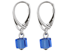 Boucles doreille Indicolite DO-CARRE-206